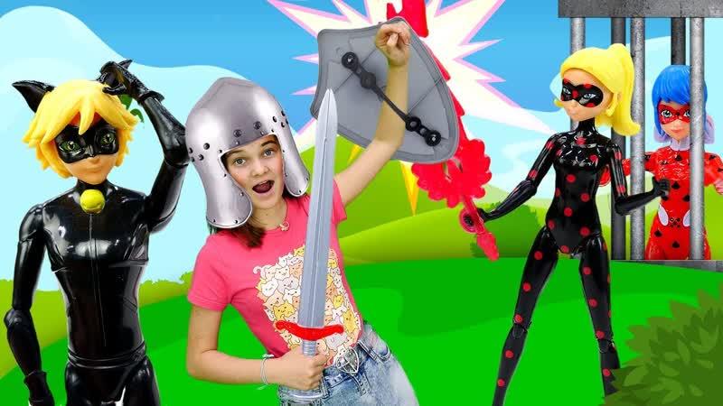 Лучшие Подружки • Супер Кот и Леди Баг в прошлом - Принцесса Рыцарь против АнтиБаг! - Видео шоу Будет исполнено