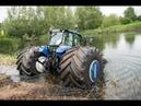 Трактор амфибия