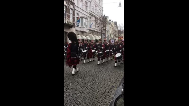 Открытие карнавала в Маастрихте