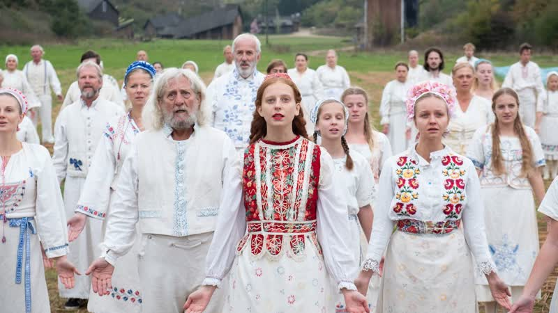 Солнцестояние русский трейлер кино хоррора Midsommar 2019 18