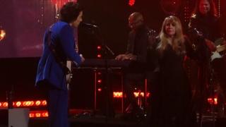 """""""Stop Draggin My Heart Around"""" Stevie Nicks & Harry Styles@Barclays Brooklyn, NY 3/29/19"""