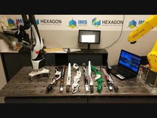 Сканирование лука лазерным сканером.