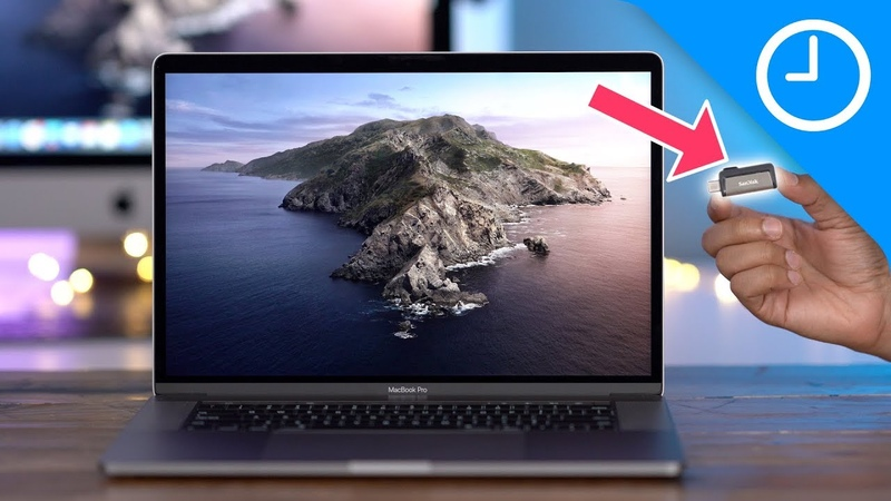How to create a bootable macOS Catalina USB Install drive