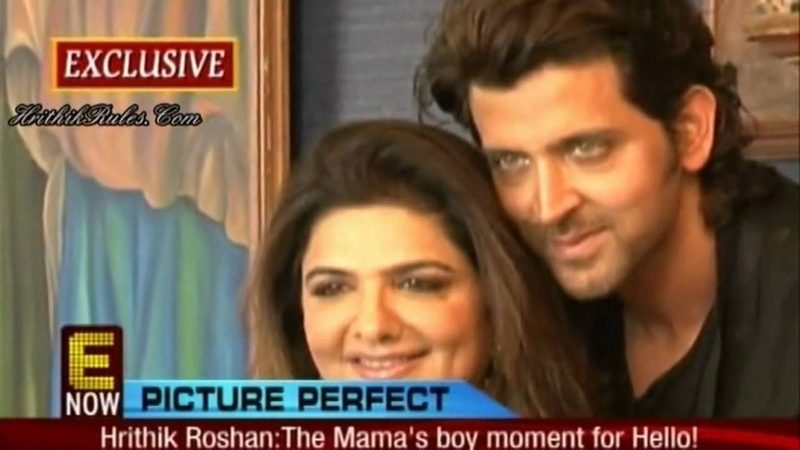 Pinky Hrithik Roshan's PhotoShoot - Hello Magazine's Mother's Day Special (HD)