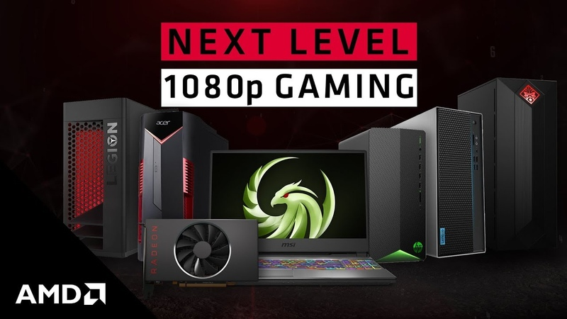 Next level 1080p gaming with AMD Radeon™ RX 5500 Series GPUs