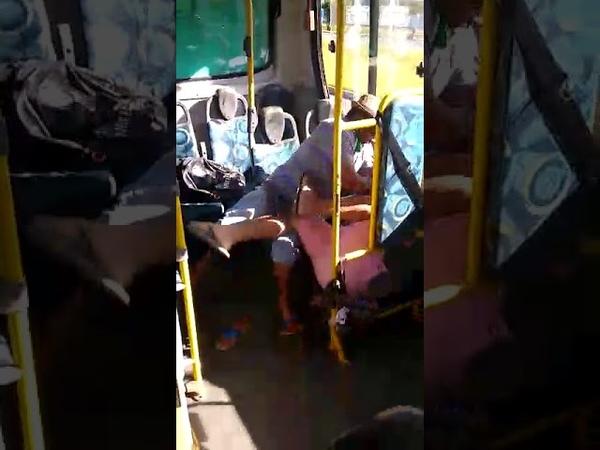 Briga Dentro Do Ônibus Quase Acaba Em Morte Bateu Na Cara de Homem facada paz