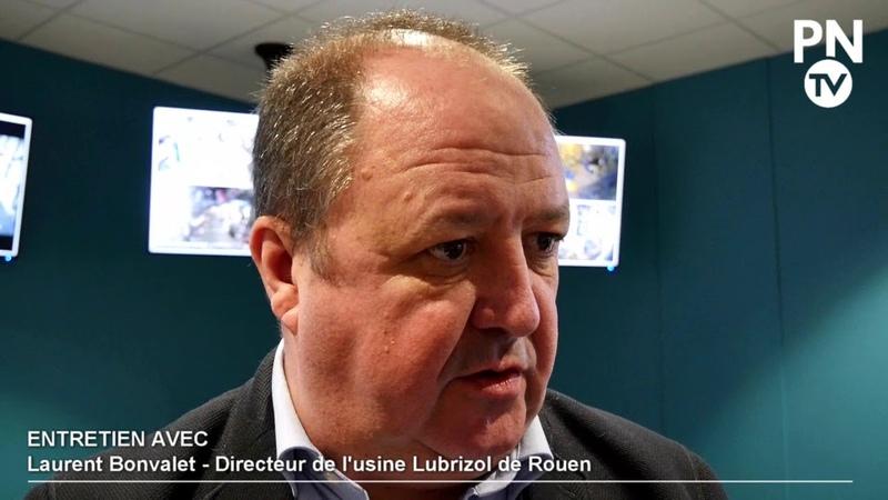 Entretien avec Laurent Bonvalet au coeur de l'usine Lubrizol de Rouen