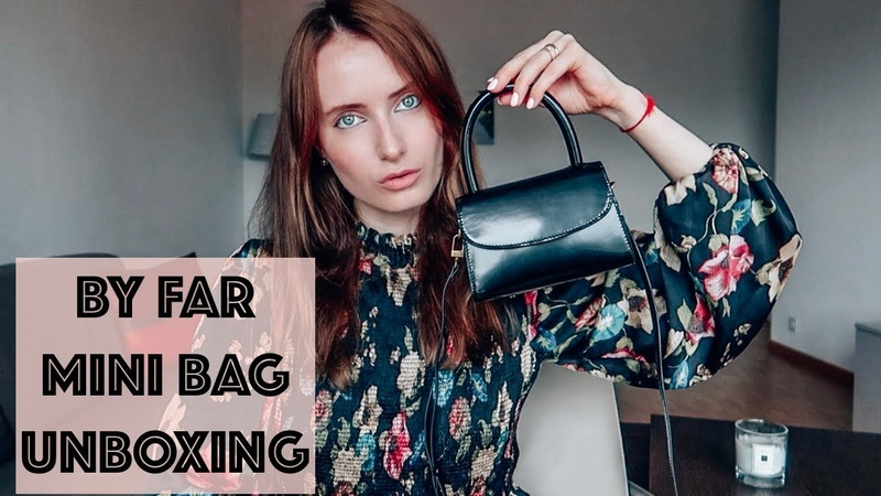 BY FAR BAG: UNBOXING, REVIEW DUPES