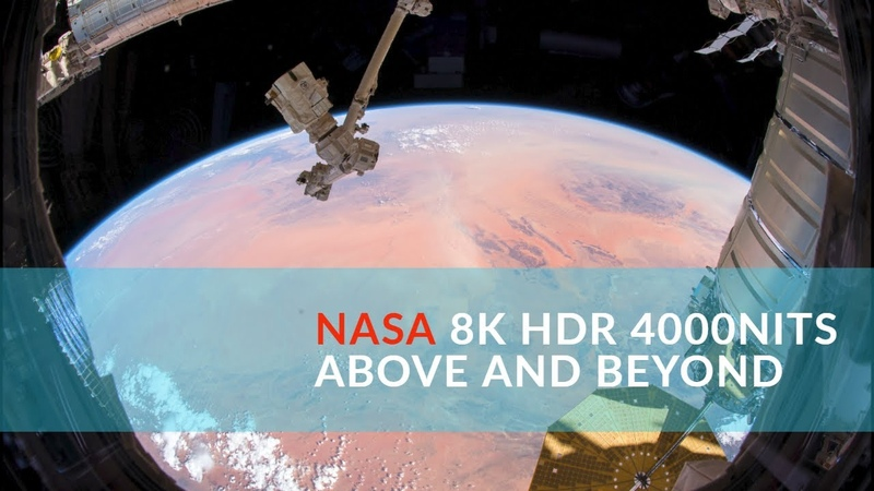 BEST SPACE 8K HDR 4000 NITS DEMO FOR TVs | Above Beyond