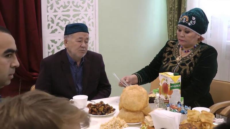 Ак калфак Айсылу Юнусова Тобольск