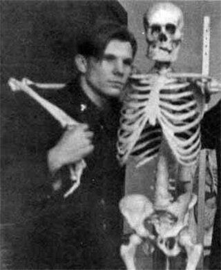 Юрий Гагарин - студент Саратовского индустриального техникума (1950-е)