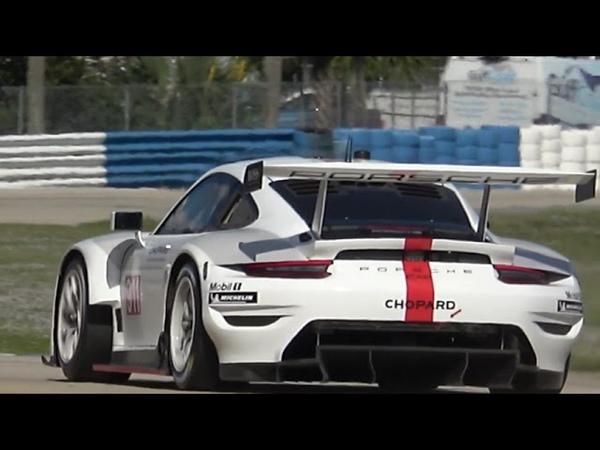 Porsche Testing New GTLM RSR at Sebring
