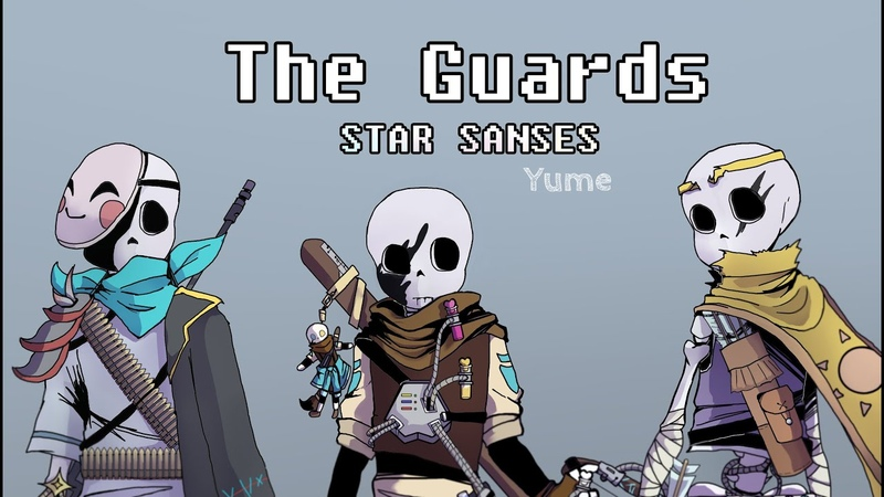 The Guards Star Sanses Speedpaint