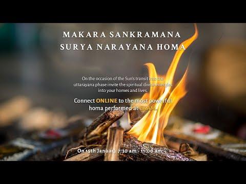 Access immense Divine Grace of the Makara Sankramana Surya Narayana Homa
