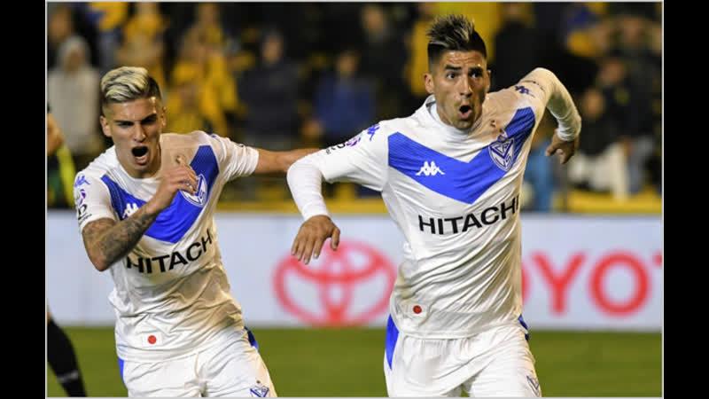Leandro Fernandez dedica еl gol al Gringo Heinze