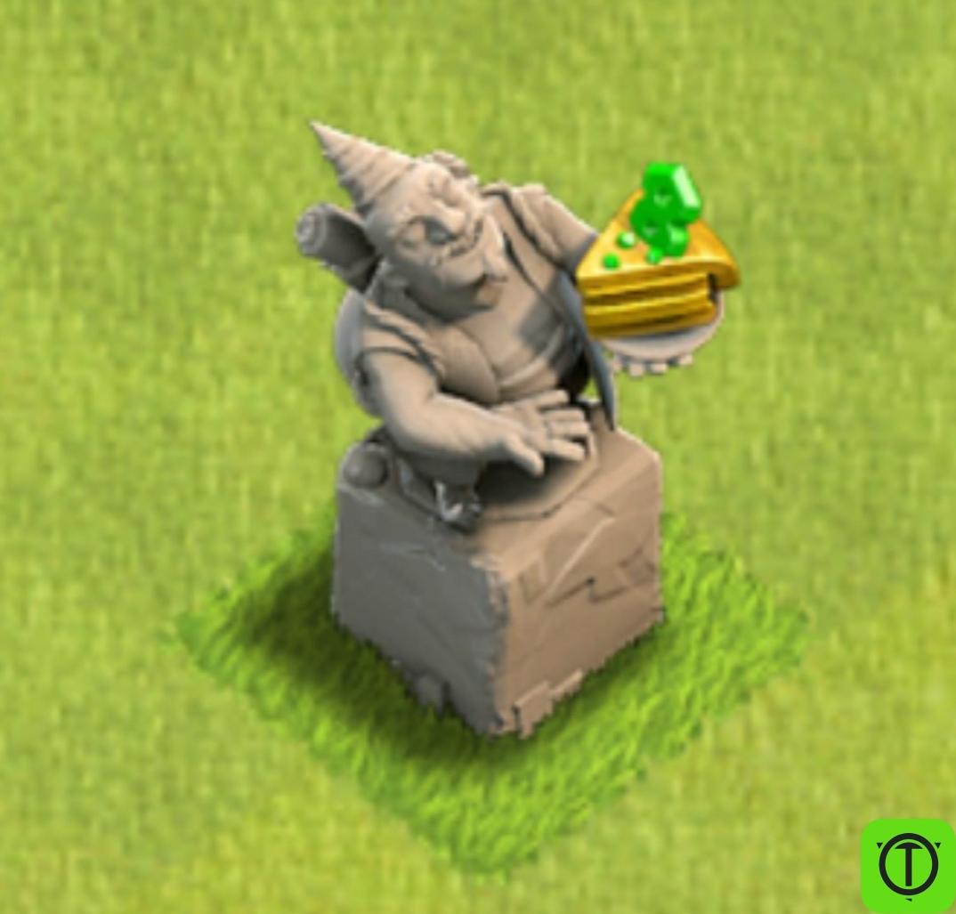 Новая статуя к 8 дню рождению Clash of