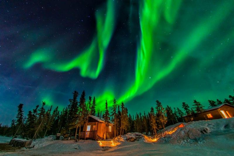 10 лучших мест в мире, где можно увидеть северное сияние, изображение №11
