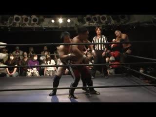 Hikaru Sato & Shunsuke Sayama vs. Astronauts (Fuminori Abe & Takuya Nomura)