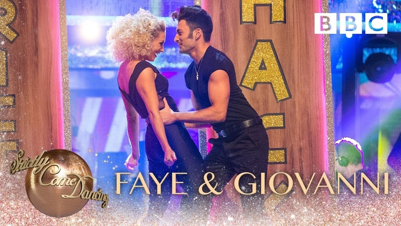 Faye Tozer Giovanni Pernice Quickstep to 'You're The One That I Want' BBC Strictly 2018