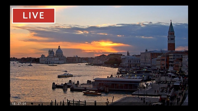 Webcam Venice Live St Mark's Basin in Live Streaming from Tribute to Music Venice