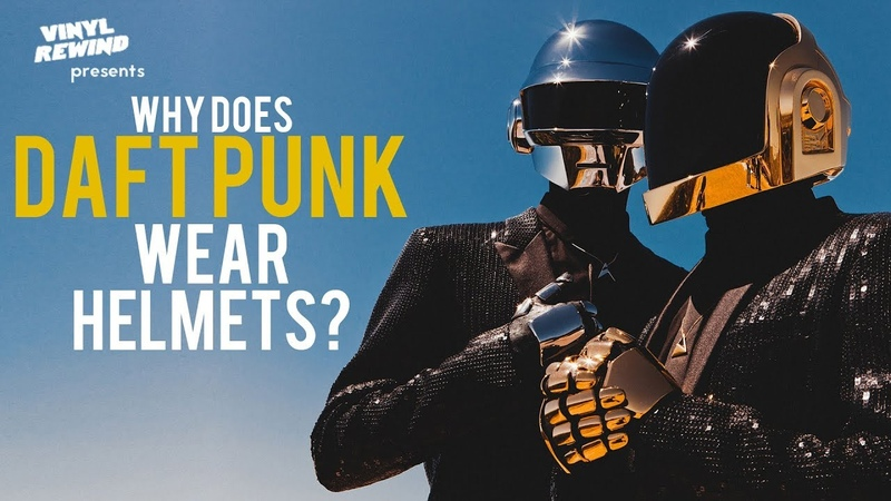 Why Does Daft Punk Wear Helmets A Brief History of the Band Vinyl Rewind special