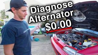 Diagnose Alternator for Free $ [All Cars // JDM, EDM, USDM.. ADM? Probably.]