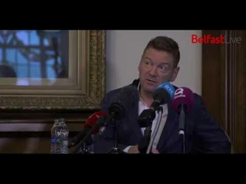 Sir Kenneth Branagh is made a Freeman of Belfast City