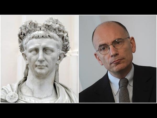 Enrico Letta (PD) e limperatore Claudio. La verità storica