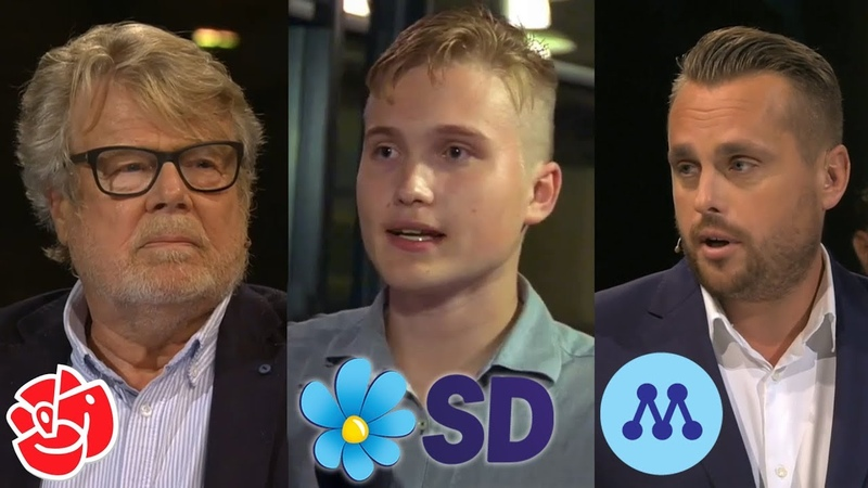 Debatt Tiggeri Rätt Värdegrund. Emil Eneblad (SD), Christian Sonesson (M) med flera