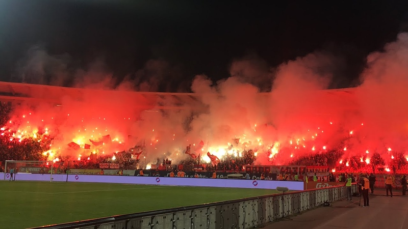 Delije - Velika bakljada - Gori Marakana | 160. veciti derbi Crvena zvezda - Partizan 21