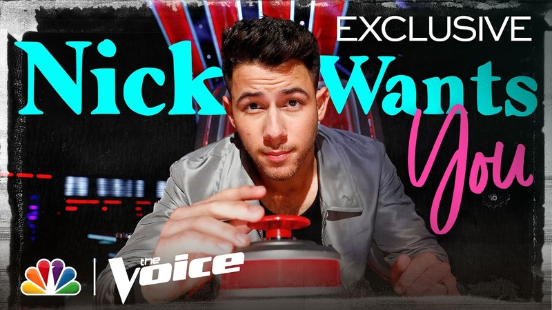 Nick Jonas Wants to Be More Than a Coach - He Wants to Be the Artists Teammate - The Voice 2020