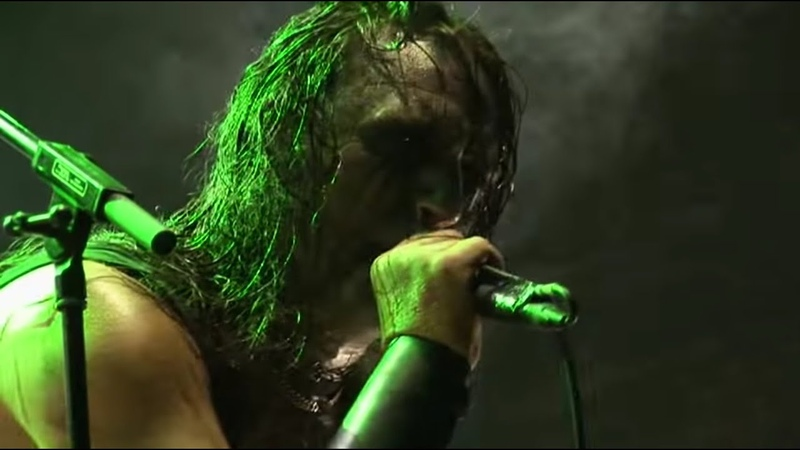 MARDUK Christraping Black Metal Live @ Party San Open Air Festival 2009