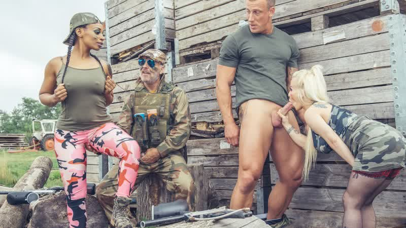 Lola Marie, Petite Princess Eve - Paintballers Part 2 - All Sex Big Tits Blowjob Doggystyle Facial, Porn