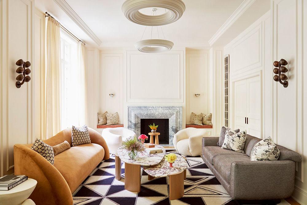 Яркий неординарный дизайн квартиры с историей в Нью-Йорке