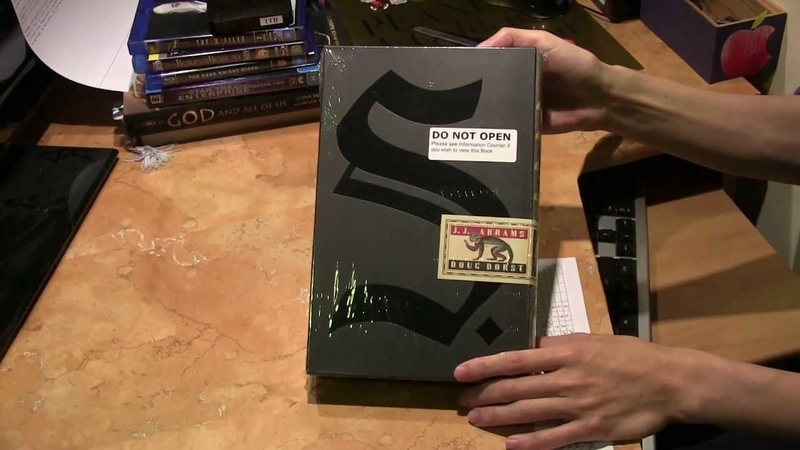 S by JJ Abrams and Doug Dorst - Book Unwrapping