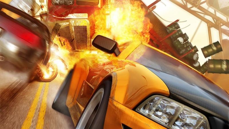 Burnout Revenge!! Signature Takedowns! Xbox 360! Gold medal racing! part 6