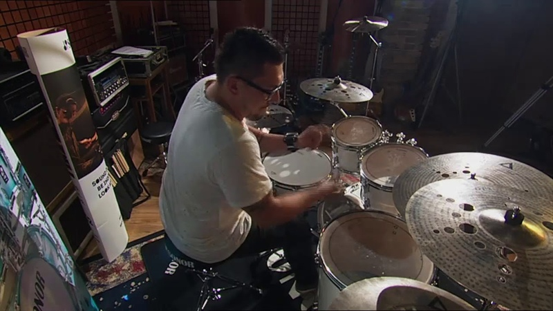 SONOR AQ1 Stage Set Piano White звучание барабанов Mika Ronos