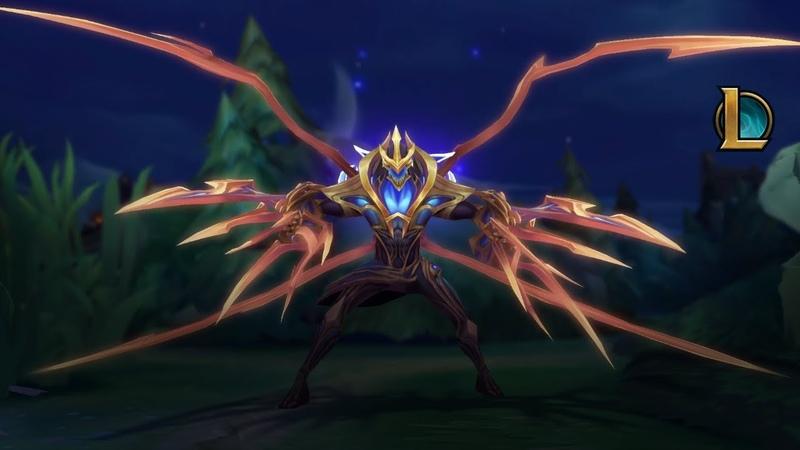 Крушите целые миры Трейлер легендарного образа Губителя галактики Зеда League of Legends