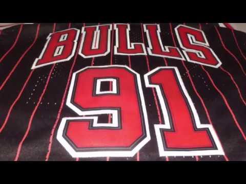Баскетбольная форма NBA Chicago Bulls №91 Dennis Rodman магазин Basket Family