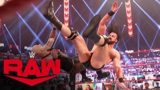 Drew McIntyre vs. King Corbin: Raw, Apr. 5, 2021