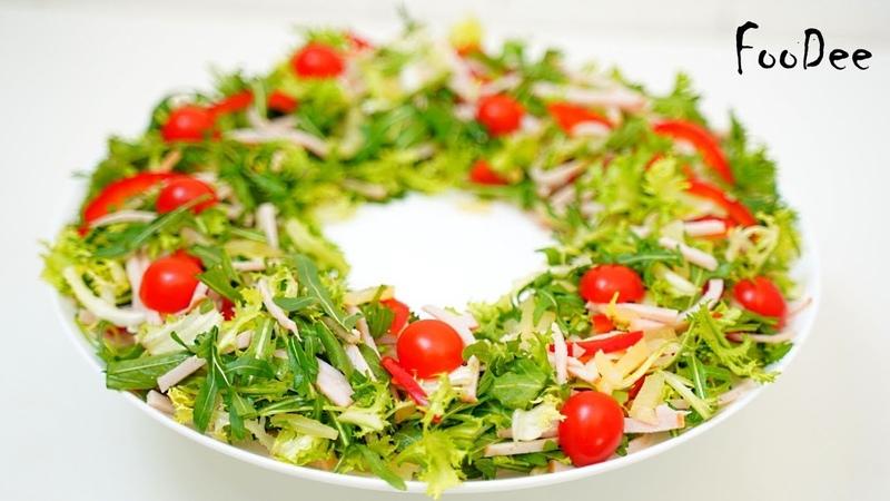 Салат ГАВАЙИ с ветчиной БЕЗ майонеза Обалденно вкусный салат