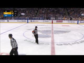 НХЛ назначил слушание по эпизоду матча между Сент-Луисом и Нэшвиллом (2:4).