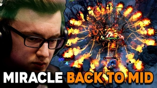 Miracle- Back to Mid with His Signature Hero Shadow Fiend and Windranger Arcana - Road to 11k MMR