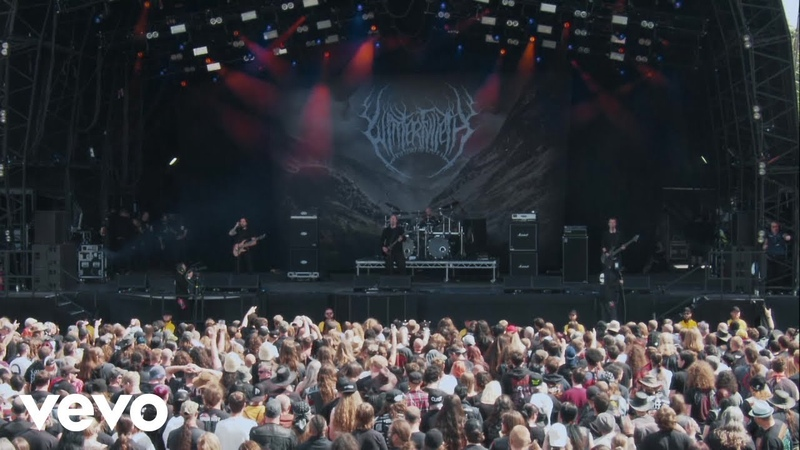 Winterfylleth The Swart Raven Live At Bloodstock UK 2017 Atmospheric Folk Dlack Metal England