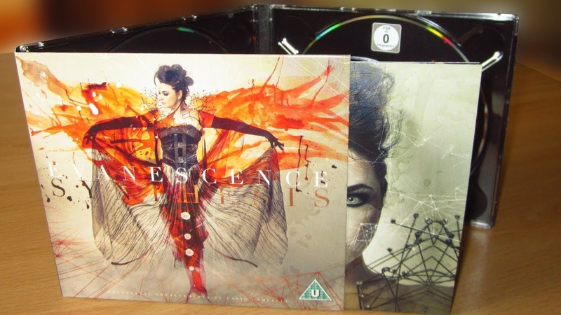 Evanescence - Synthesis unboxing cd dvd deluxe edition