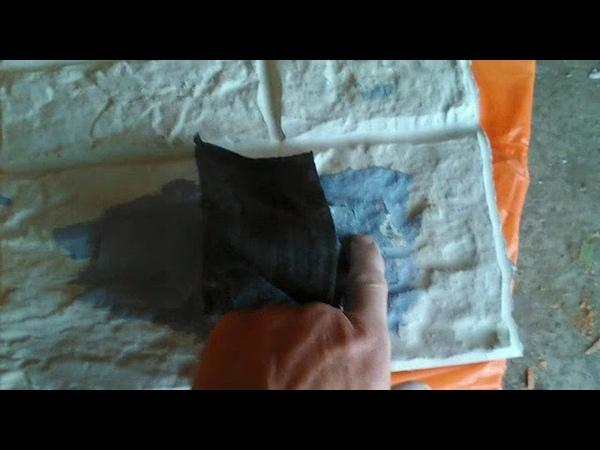 МЕГАТЕСТ.Резиновая краска по бетону. Адгезия.