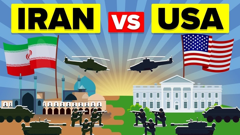 USA vs IRAN: Who Would Win? - Military / Army Comparison 2019