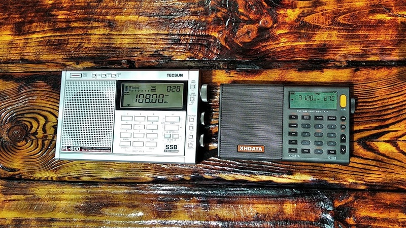 Сравнение приемников XHDATA D-808 и Tecsun pl-600