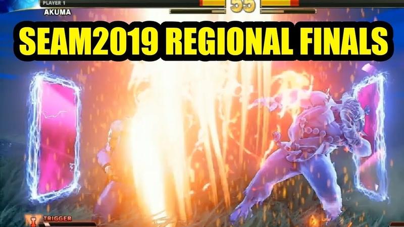 Street Fighter V SEA Major 2019 Regional Finals Highlight