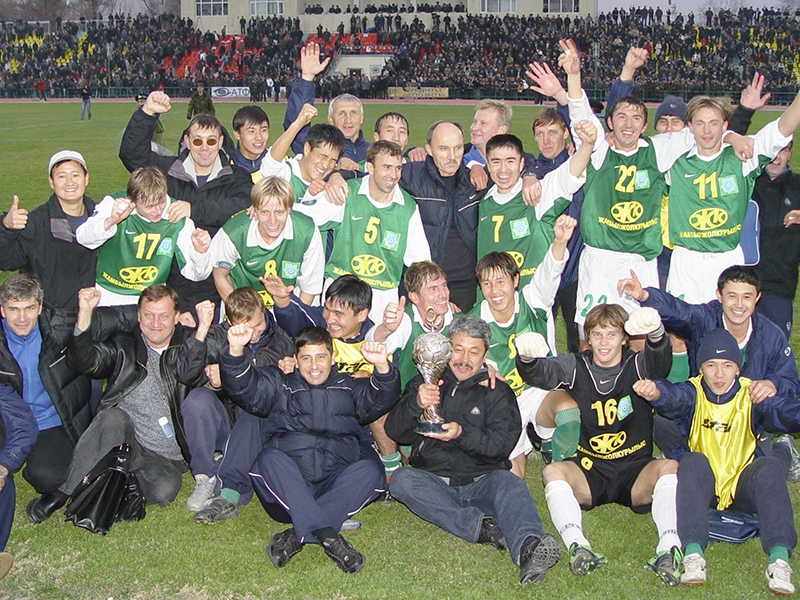 Чемпионство «Тараза» в 1996 году
